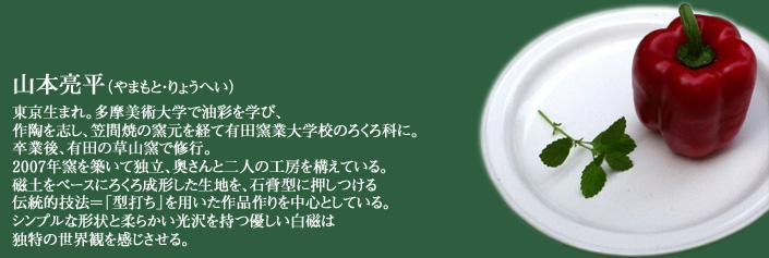 山本亮平  ,有田焼