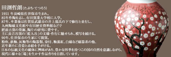 田渕哲朗 ,有田焼